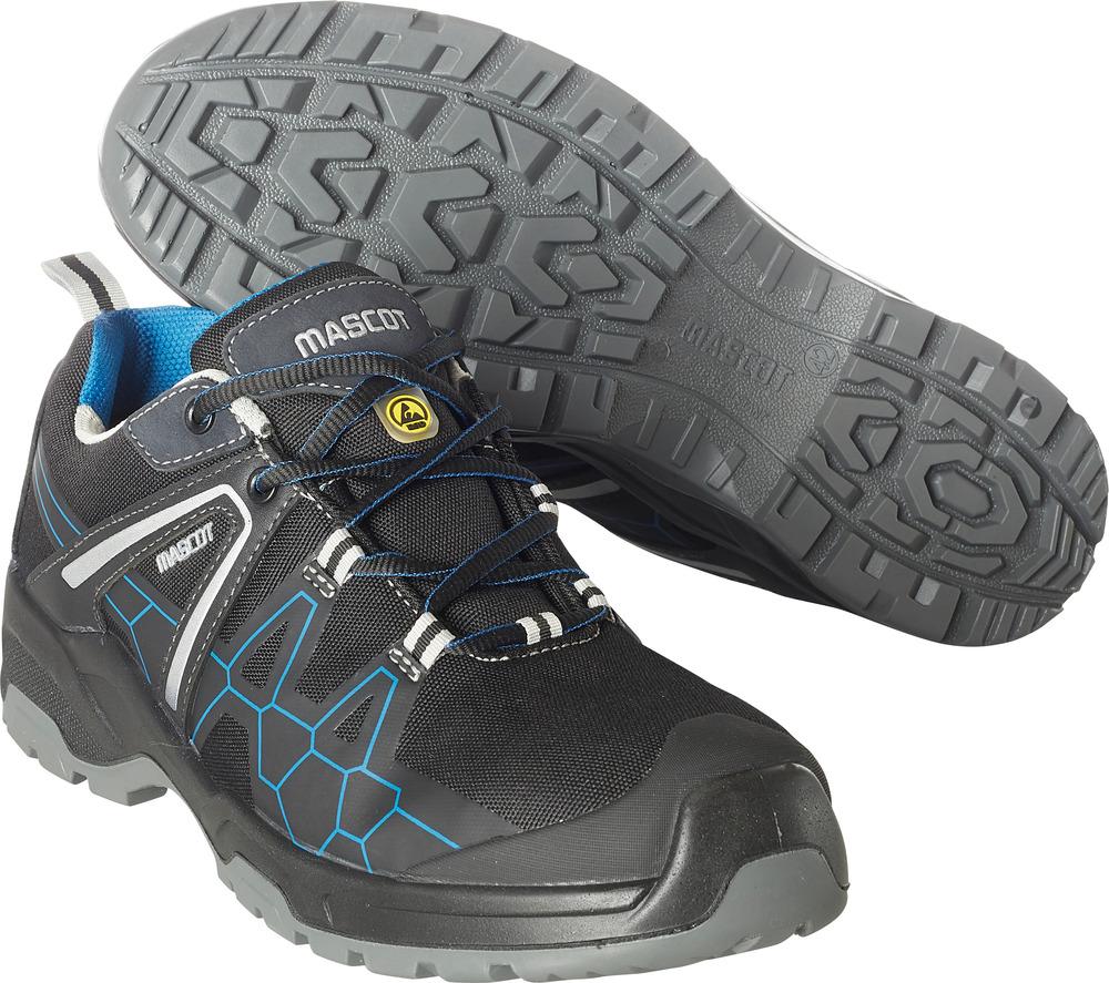 F0123-772-0911 Safety Shoe - Black/royal