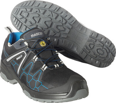 F0123-772-0911 Safety Shoe - Black/royal