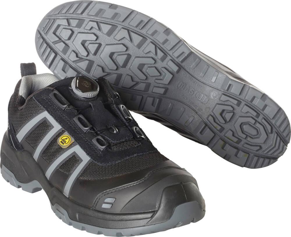 F0125-773-09118 Safety Shoe - black/light anthracite