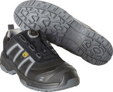 F0125-773-09118 Safety Shoe - black/light anthracite