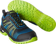 F0130-849-91133 Safety Shoe - black/royal blue/lime green