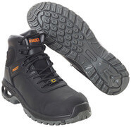 F0135-902-09 Safety Boot - black