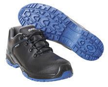 F0140-902-0901 Safety Shoe - Black/royal