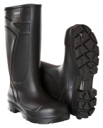 F0852-703-09 PU safety boots - black