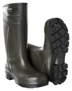 F0852-703-19 PU safety boots - dark olive